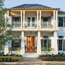 Coastal Cottage Plans by 17 Pretty House Plans With Porches Bayou Bend Plan No 1745 This