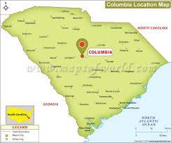 map of columbia south carolina is columbia south carolina