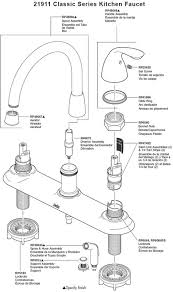 delta single handle kitchen faucet parts delta kitchen faucet parts diagram faucets part lists