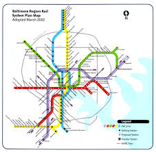 Dc Metro Rail Map by How The Baltimore Red Line Could Rise Again U2013 Streetsblog Usa