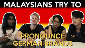 malaysians try to pronounce german brands world of buzz