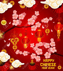 new year traditional decorations happy new year greeting card of golden traditional