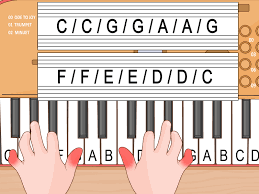 Write Music On Staff Paper Online 3 Ways To Play A Casio Keyboard Beginners Wikihow