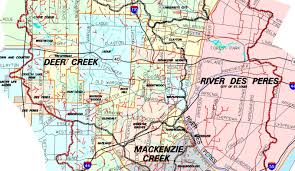 meramec community map flooding st louis radio