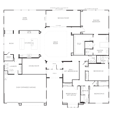 floor plans for a 5 bedroom house 5 bedroom home floor plans corglife