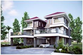 pan villa properties u2013 proposed the palm 3 storey semi detached house