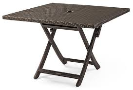 best folding patio dining table round folding patio table