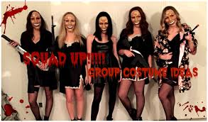 black dress for halloween party 12 group halloween costumes that scream squadgoals