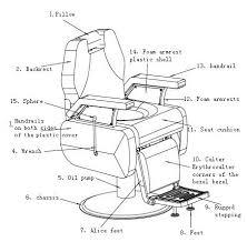 Salon Chair Parts Europe Design 2015 Cozy Barber Shop Chair Beauty Salon Chair