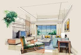 interior design sketch interior design bedroom sketches fresh on inspiring sketch living