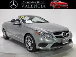 mercedes e class convertible for sale used 2014 mercedes e class e 350 for sale in santa clarita