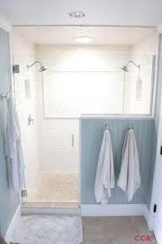 Bathroom Shower Ideas On A Budget Before And After Farmhouse Bathroom Remodel Modern Farmhouse