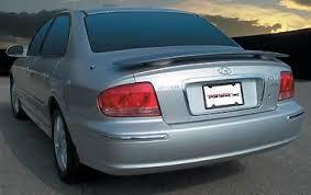 hyundai sonata 2003 hyundai sonata spoiler 02 05 factory rear wing