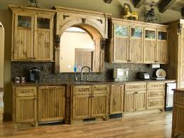 Rustic Kitchen Hoods - kitchen room furniture enhance wooden rustic kitchen cabis