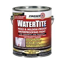 Spray Paint Bunnings - zinsser 3 78l white watertite waterproof paint bunnings warehouse