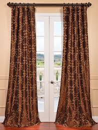 Chocolate Brown And Red Curtains Red Curtains Copper Coloured Curtains Pictures Of Curtains