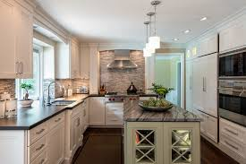 Kitchen Transitional Design Ideas - breathtaking wolf cooktop decorating ideas for kitchen