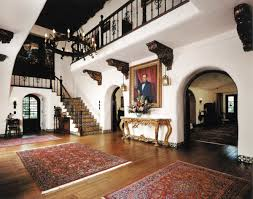 spanish revival architecture in los angeles old house fine woodwork tile and ironwork are on display at la casa nueva