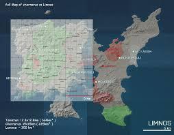 Dayz Map Limnos Arma 3 Vs Chernarus Arma 2 Maps Spartan War Fighters