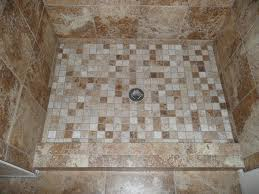black and white mosaic bathroom floor tiles design ideas