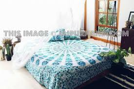 white mandala throw indian bedspread tapestry wall hanging hippi