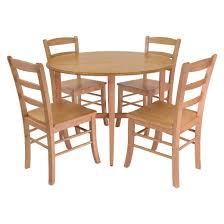 Drop Leaf Oak Table Hannah Double Drop Leaf Table Wood Light Oak Winsome Target