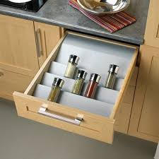 kitchen cabinets interior drawer organizers and drawer trays from laurysen kitchens