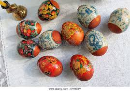 Russian Easter Egg Decorations by Russian Easter Menu Stock Photos U0026 Russian Easter Menu Stock