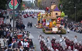 Rose Parade Route Map by Tournament Of Roses
