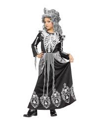skeleton queen childrens costume great halloween costume