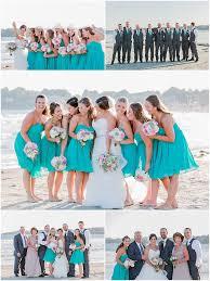 newport beach house wedding christina and mike married