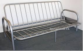 metal frame sofa bed metal frame sofa bed the three seater silver metal futon sofa bed