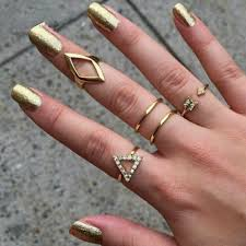 knuckle rings images 9013 women arrow ring triangle joint knuckle ring set of 5 rings jpg