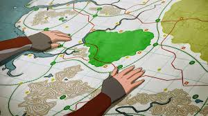 Map Of Avatar Last Airbender World by 406 The Battle Of Zaofu