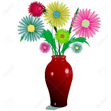 9 752 flower vases stock illustrations cliparts and royalty free