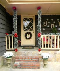 front porch christmas decorating ideas country christmas front porch christmas decorating ideas white glittered poinsettias