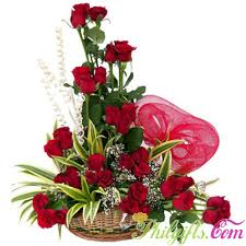 3 dozen roses philgifts 3 dozen roses in basket send day gift