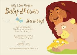 lion king baby shower invitations reduxsquad com