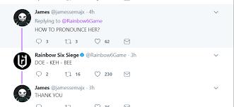 How Do U Pronounce Meme - how to pronounce dokkaebi ubisoft response rainbow6
