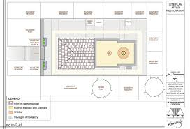 Mandir Floor Plan by Parvathi Nandan Ganapati Temple Pune Unesco Awards For Cultural
