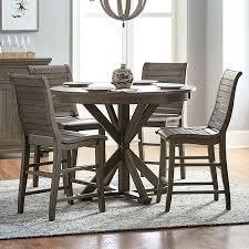 round counter height table set progressive furniture willow progressive furniture willow dining 5
