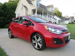 2012 kia rio sx hatchback start up exhaust test drive and in