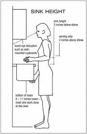 standard kitchen island height island height of kitchen sink drain in standard height for