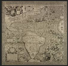 Spanish Map Of South America by Stunning Map Made For King Philip Ii To Show Off U0027the Spanish