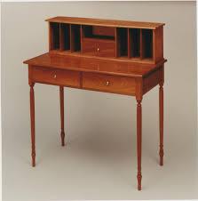 Bombe Secretary Desk by Daniel C Faia Nh Furniture Maker Wood Carver Chair Maker