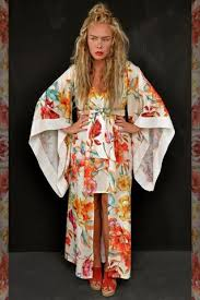 kimono dress flowers red u2013 by birta