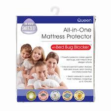 original bed bug blocker zippered mattress protector walmart com