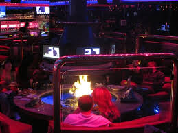 Indoor Firepit The Indoor Firepit Picture Of Peppermill S Fireside Lounge Las