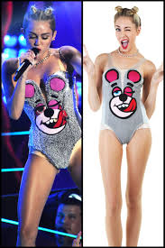 miley cyrus halloween costume split p 2013 hollywood reporter