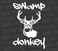 swamp donkey hunting decal thisguysdecals swamp donkey hunting decal